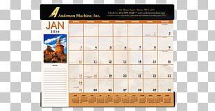 Desk Pad Calendar Catalog Printing PNG