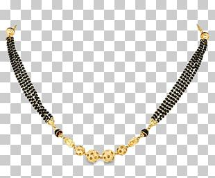 Jewellery Necklace Mangala Sutra Gold PNG