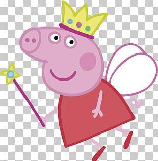 Daddy Pig Princess PNG