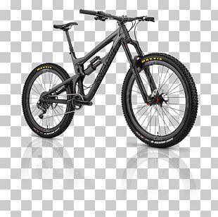 Santa Cruz Bicycles Mountain Bike Carbon DVO Emerald Suspension Fork PNG