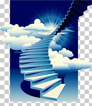 Stairs Stairway To Heaven Building PNG