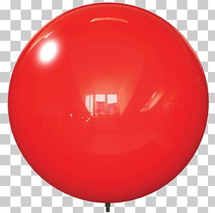Toy Balloon Party Birthday Red PNG