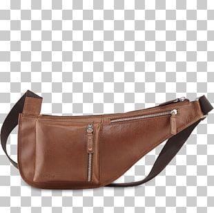 Handbag Brown Leather Caramel Color Messenger Bags PNG