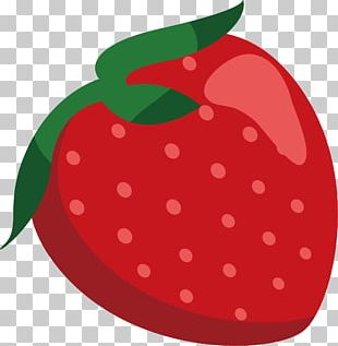 Strawberry Drawing Animation PNG