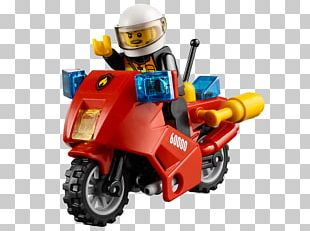 Lego City Motorcycle Lego Minifigure Toy PNG