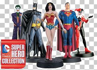 Superhero Batman Superman Figurine DC Comics PNG