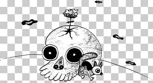 Black And White Comics Cartoon Illustration PNG