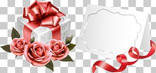 Rose Flower Greeting & Note Cards Gift PNG