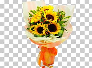 Flower Bouquet Cut Flowers Flower Delivery Gift PNG