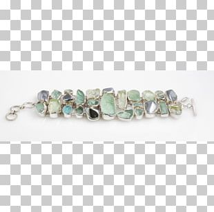 Turquoise Bracelet Bead Silver Jewellery PNG
