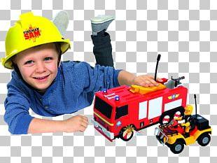Fireman Sam Firefighter Fire Engine Car Vehicle PNG