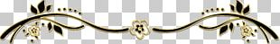 Gold Body Jewellery Clothing Accessories Feather PNG