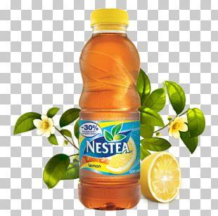 Iced Tea Orange Drink Juice Fizzy Drinks PNG