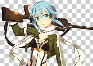Sinon Asuna Kirito Sword Art Online Leafa PNG