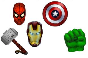 Marvel: Avengers Alliance Iron Man Captain America Logo PNG
