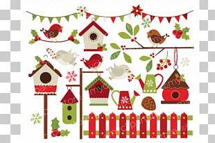 Christmas Northern Cardinal Diagram PNG