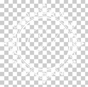 Circle Black And White Area Pattern PNG