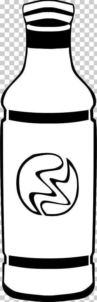 Coloring Book Water Bottles Fizzy Drinks Puzzle PNG