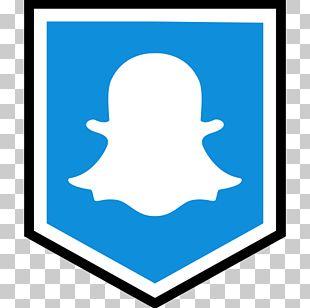 Social Media Snapchat Gold Logo Icon PNG