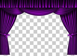 Theater Drapes And Stage Curtains Theatre Purple PNG
