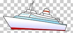 Boat Ship Drawing PNG