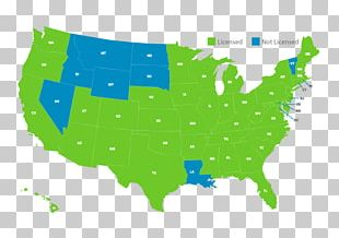 Texas Blank Map Red States And Blue States PNG