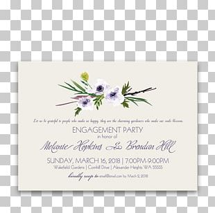 Wedding Invitation Flower Violet Lilac Lavender PNG