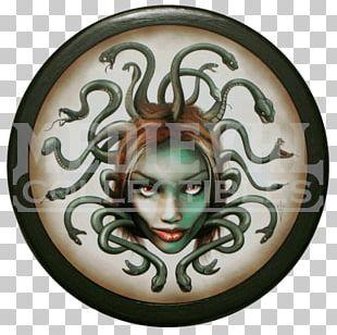 Medusa Perseus Ancient Greece Greek Mythology Shield PNG