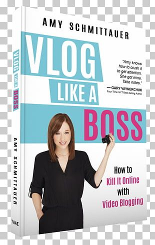 Vlog Like A Boss: How To Kill It Online With Video Blogging YouTube Audible Book PNG
