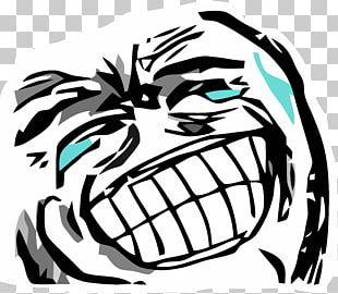 Rage Comic Internet Meme Laughter Trollface PNG