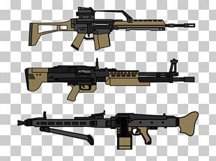 Assault Rifle Machine Gun Firearm Heckler & Koch MP7 Weapon