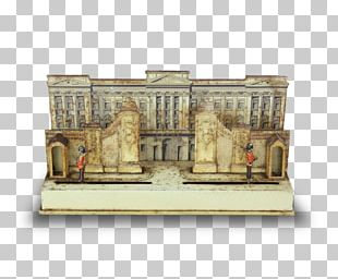 Buckingham Palace Mechanical Toy Yeomen Of The Guard Lithography PNG