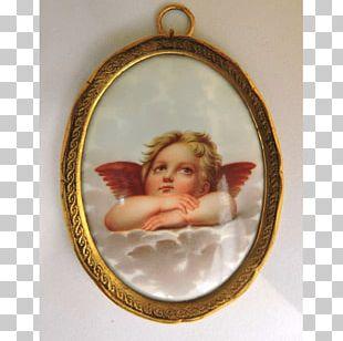 Locket Christmas Ornament Porcelain Oval PNG