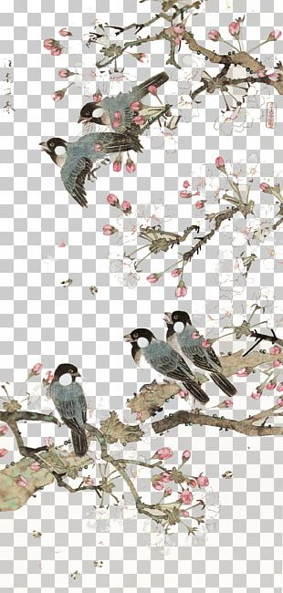 China Bird-and-flower Painting Chinese Art Chinese Painting PNG