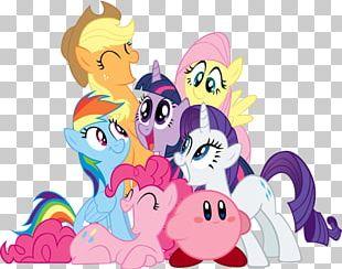 Pinkie Pie Rainbow Dash Rarity Applejack Pony PNG