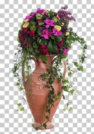 Floral Design Flower Bouquet Vase Cut Flowers PNG
