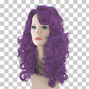Wig Purple PNG