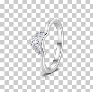 Wedding Ring Jewellery Sterling Silver PNG