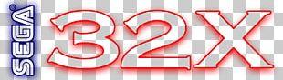 32X Sega Mega Drive Band Saws Logo PNG