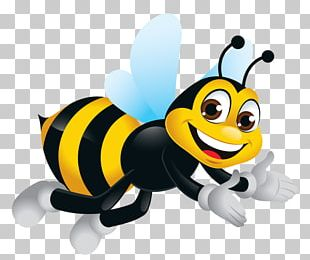 Bumblebee Insect Illustration PNG