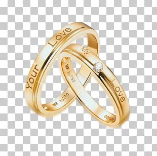 Ring Gold Diamond PNG