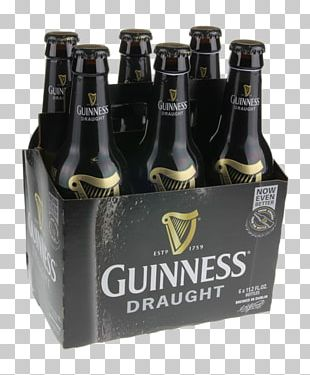 Beer Bottle Guinness Stout Ale PNG