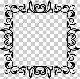 Frames White Flower PNG