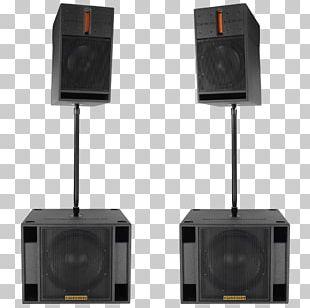 Loudspeaker Subwoofer Audio Sound Powered Speakers PNG