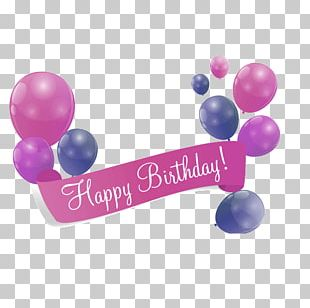 Balloon Birthday Greeting & Note Cards Holiday PNG