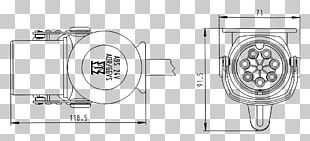 Trailer Connector Electrical Connector Car Drawing PNG