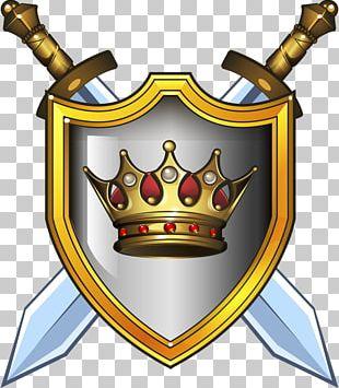 Goudex Shield Sword PNG