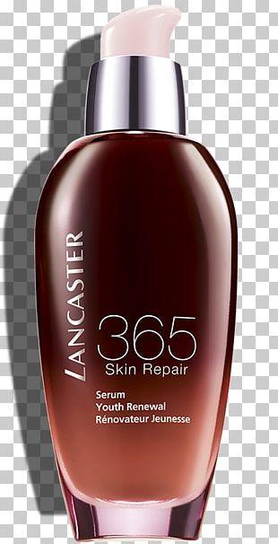 Lancaster 365 Skin Repair Serum Cream Skin Care Sunscreen PNG