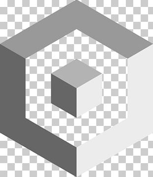 Cube Isometric Projection Shape Line Geometry PNG