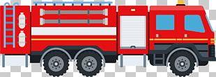 Fire Engine Car Fire Department Firefighter PNG